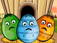 Флеш игра Верните яйца