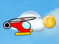 Флеш игра Вертолет и монетки