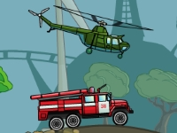 Флеш игра Вертолет-кран