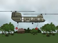Флеш игра Вертолет поддержки