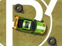 Флеш игра Веселая парковка