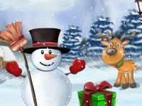 Флеш игра Веселое новогоднее украшение