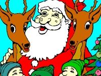 Флеш игра Веселый Дед Мороз