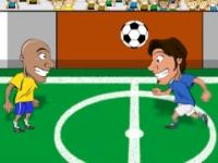 Флеш игра Веселый футбол