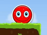 Флеш игра Веселый красный шар
