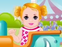 Флеш игра Веселый ребенок в парке аттракционов