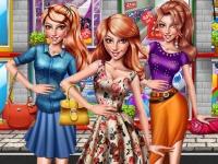 Флеш игра Веселый шопинг в торговом центре