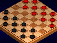 Флеш игра Весёлые шашки