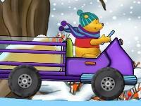 Флеш игра Винни Пух перевозит мёд