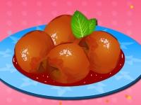 Флеш игра Винные персики