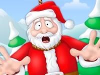 Флеш игра Виселица: Санта в беде