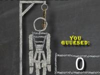 Флеш игра Виселица на школьной доске
