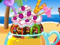 Флеш игра Вкусное мороженое