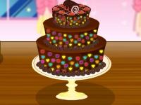 Флеш игра Вкусный шоколадный торт