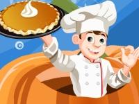 Флеш игра Вкусный тыквенный пирог