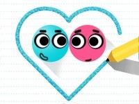 Флеш игра Влюбленные шары