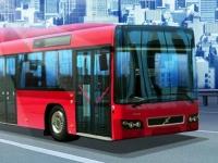 Флеш игра Водитель длинного автобуса