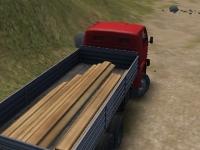 Флеш игра Водитель грузовика