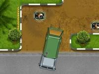 Флеш игра Водитель мусоровоза