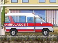 Флеш игра Водитель скорой помощи 2