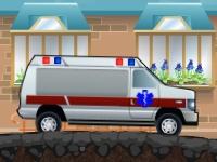 Флеш игра Водитель скорой помощи