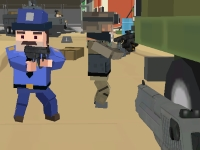 Флеш игра Военное противостояние 3D