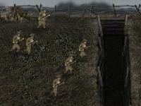 Флеш игра Военные действия 1917