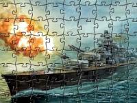 Флеш игра Военный корабль: Пазл