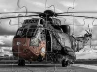 Флеш игра Военный вертолет: Пазл