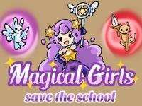 Флеш игра Волшебные девочки спасают школу