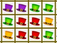 Флеш игра Волшебные шляпы в ряд