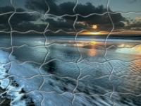 Флеш игра Восход солнца над океаном: Пазл