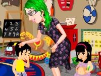 Флеш игра Воспитатель в детском саду