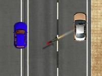 Флеш игра Война автомобилей на улицах