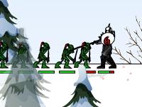 Флеш игра Война кланов 2: Зимняя оборона