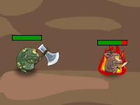 Флеш игра Война монстров 4