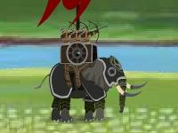 Флеш игра Война на слонах