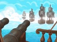 Флеш игра Война пиратов