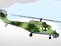 Флеш игра Война вертолетов