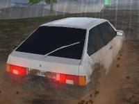 Флеш игра Вождение русского автомобиля 3D