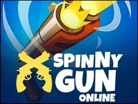 Флеш игра Вращающийся пистолет
