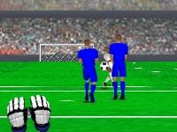 Флеш игра Вратарь: Чемпионат Англии