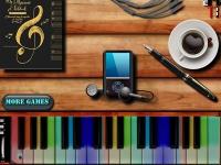 Флеш игра Время пианино