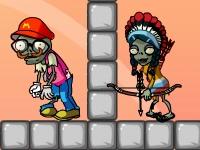 Флеш игра Всади стрелу в зомби