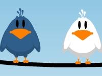 Флеш игра Вспугни птичек