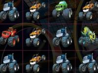 Флеш игра Вспыш и чудо-машинки: Собери грузовики