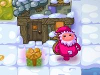 Флеш игра Встречайте Деда Мороза