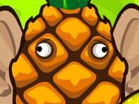 Флеш игра Вторжение фруктов мутантов