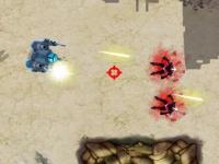 Флеш игра Вторжение механического командо 2