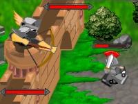 Флеш игра Вторжение рыцарей